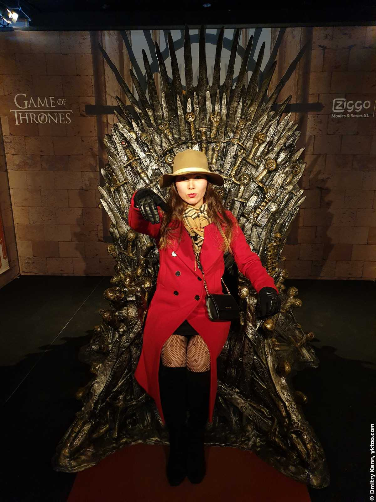 The Queen of the Iron Throne.
