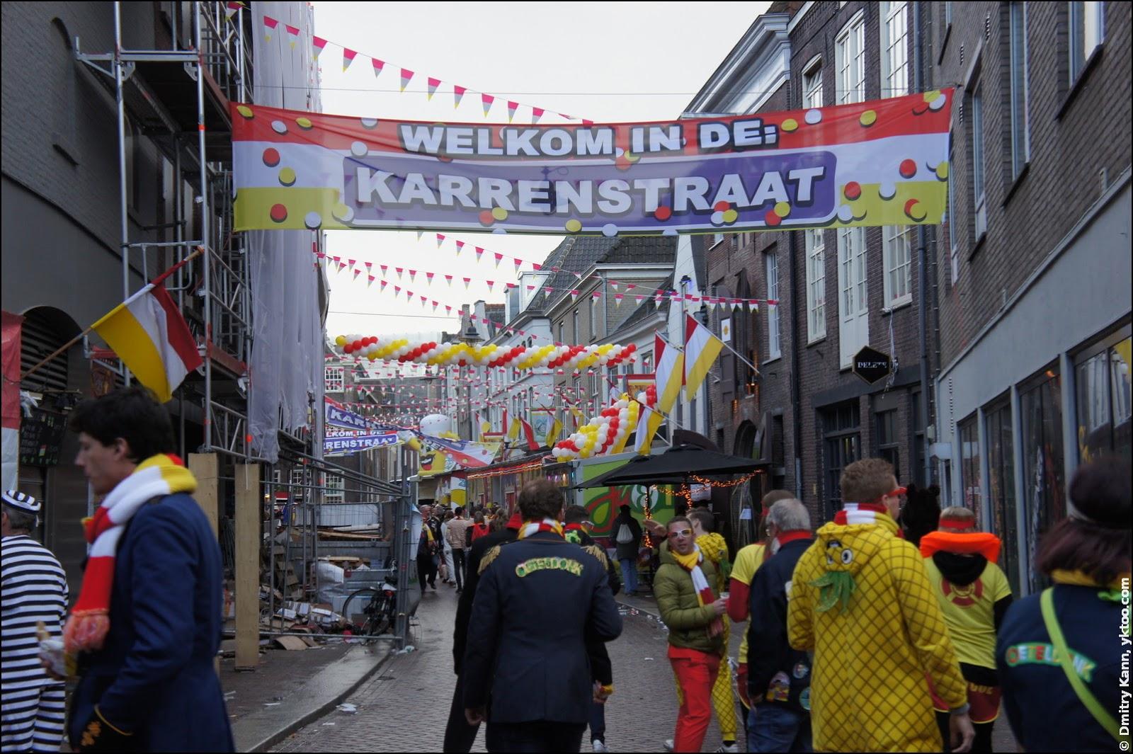 Карнавал в Ден Бош, Нидерланды.