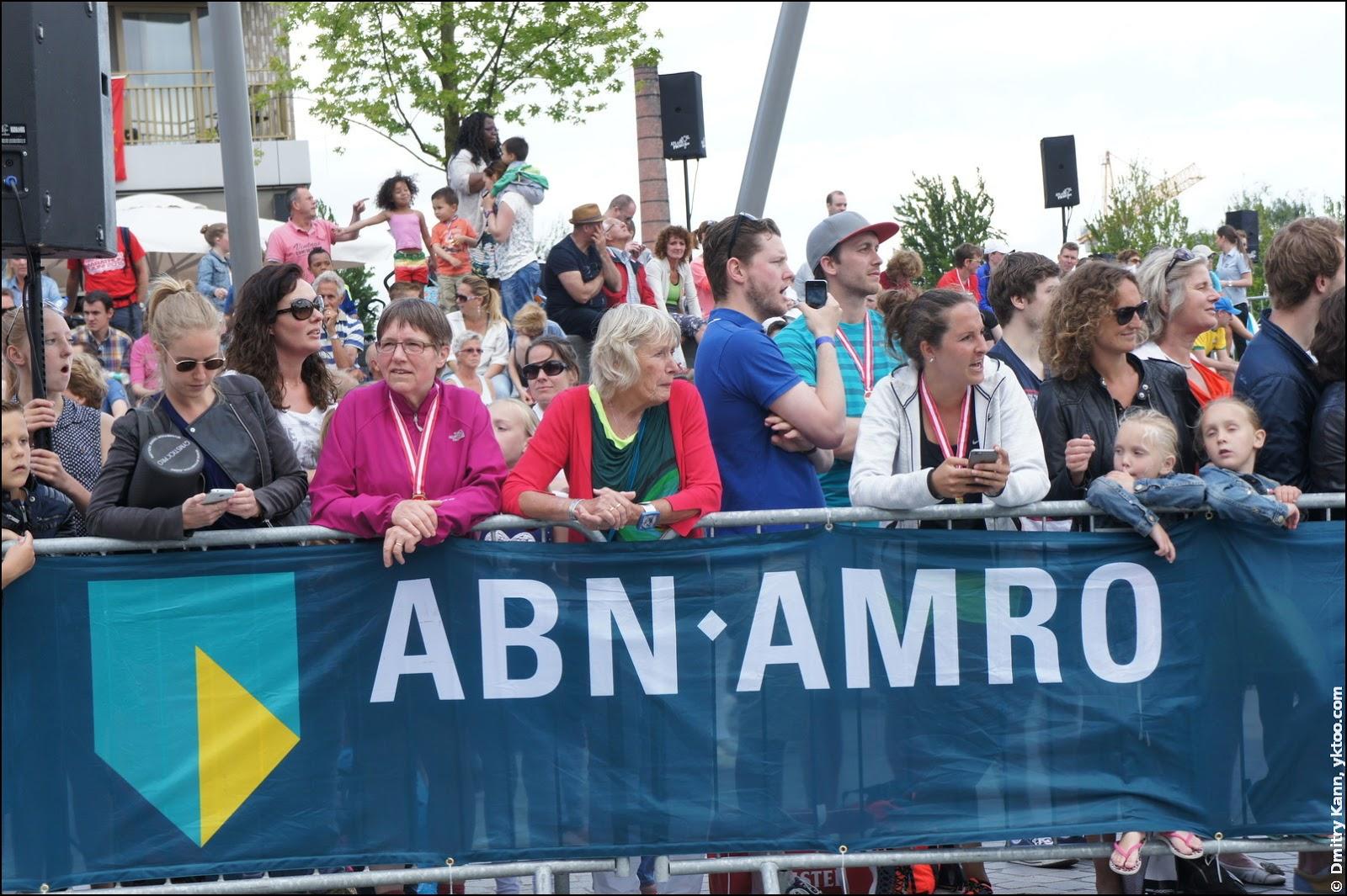 Marathon Amersfoort: финиш.