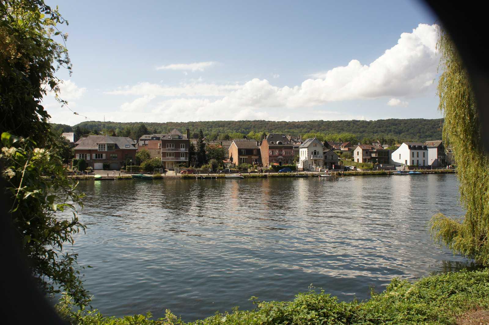 The Meuse river, Namur, Belgium.
