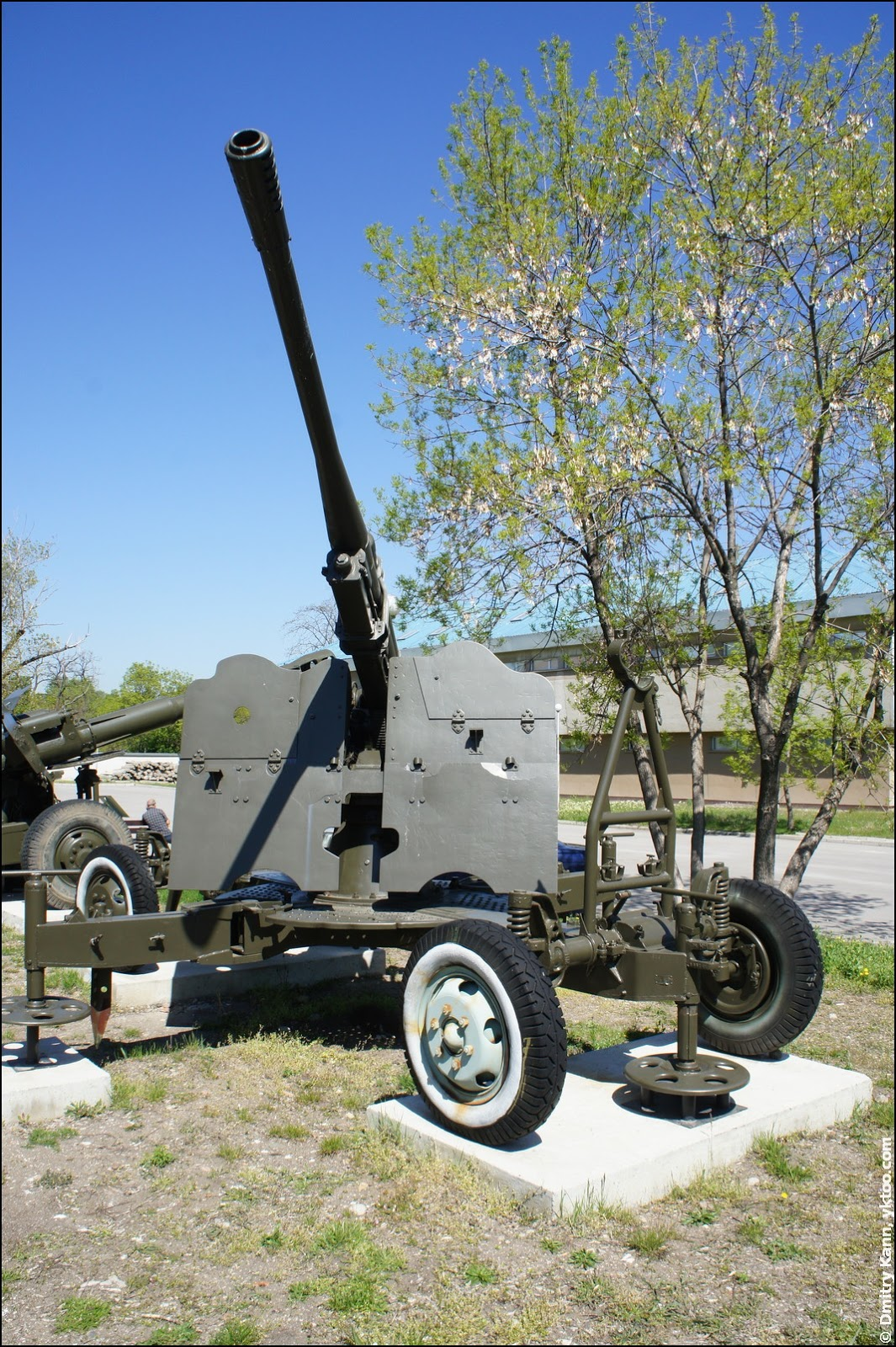 Air defense gun 52-K.