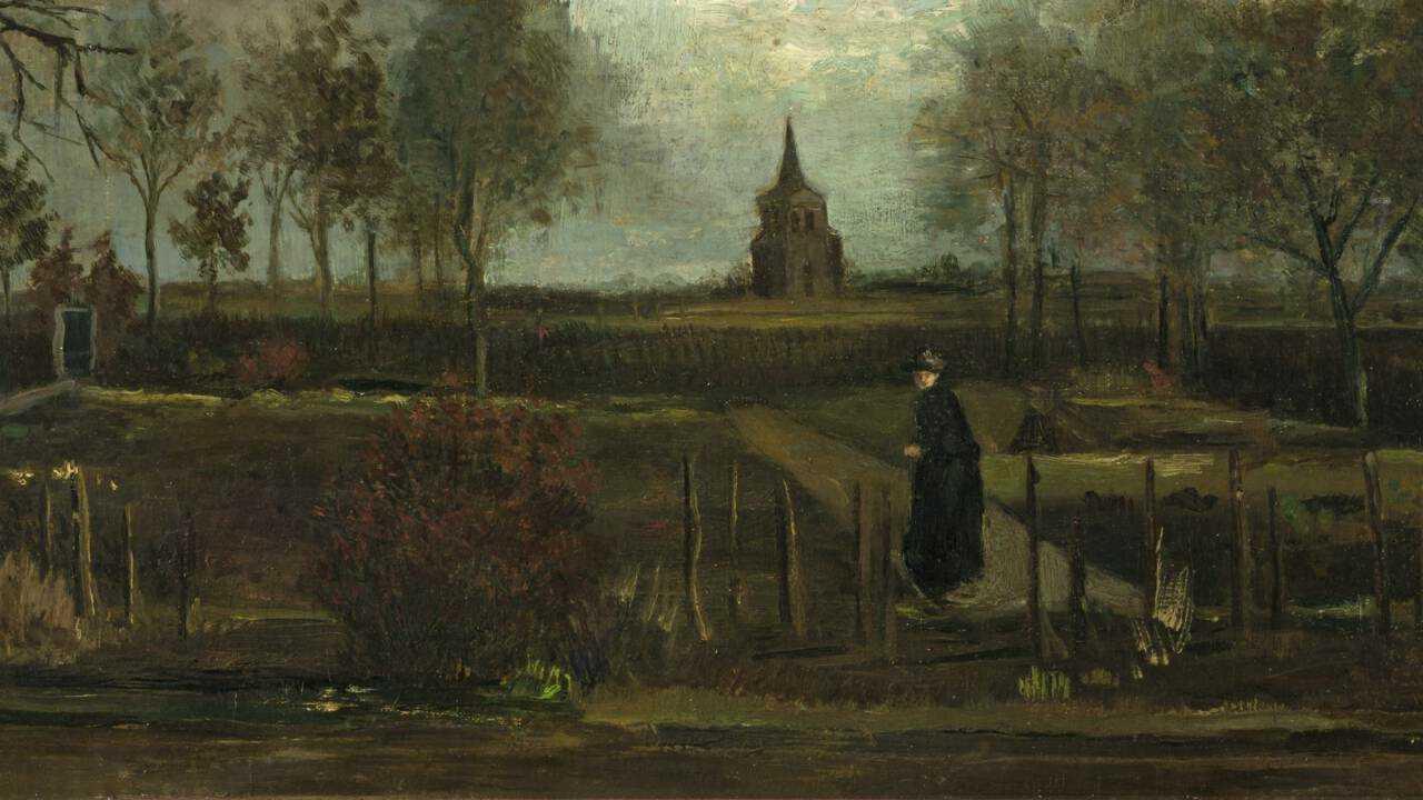 Lentetuin, de pastorietuin te Nuenen in het voorjaar. Фото: Groninger Museum.