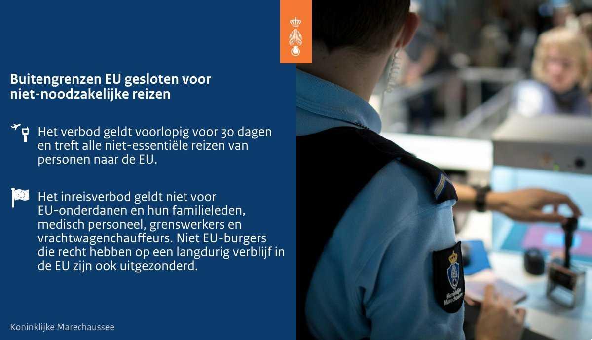 Изображение: Koninklijke Marechaussee/Twitter.