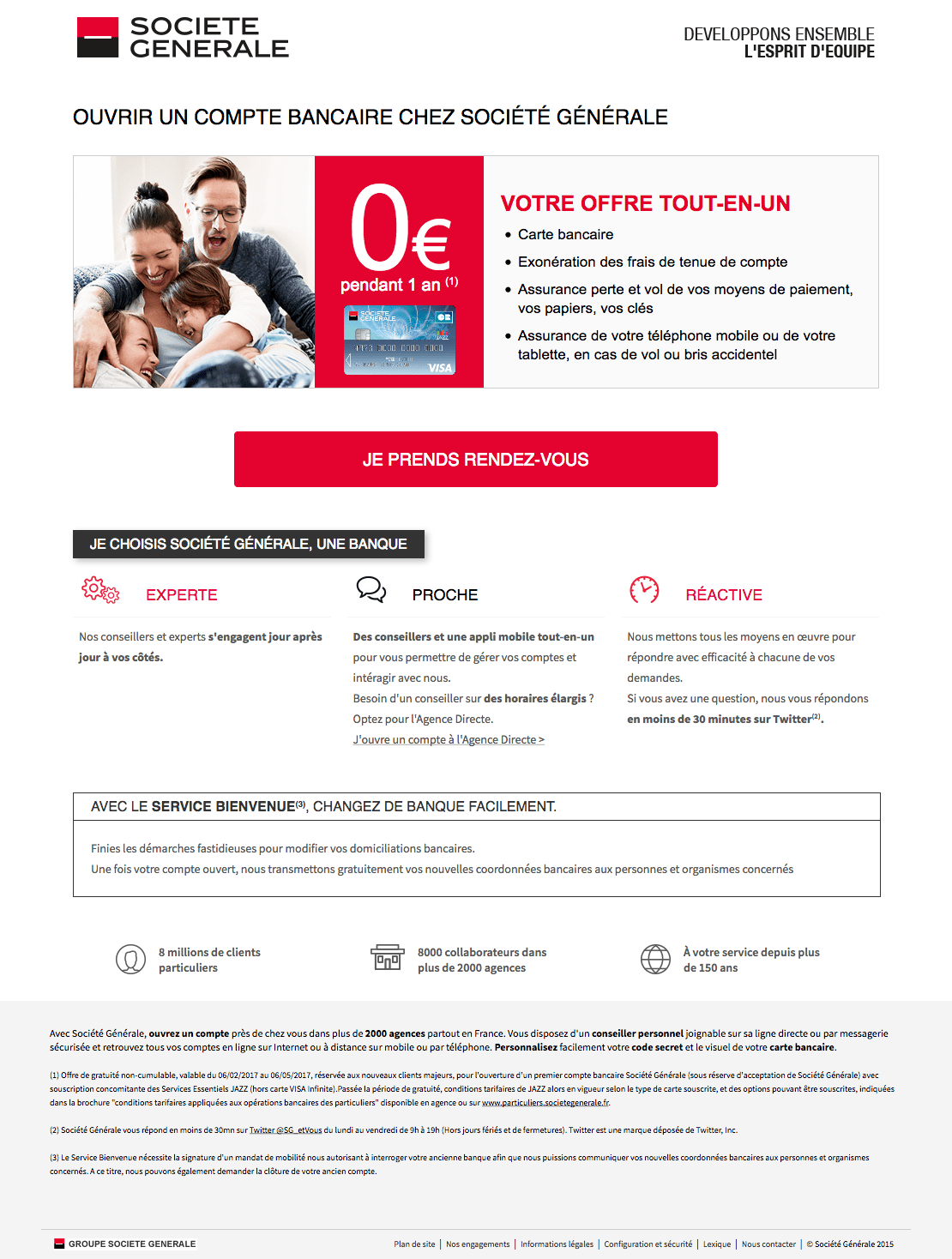 Societe Generale Ouverture De Compte Integrateur Web Freelance