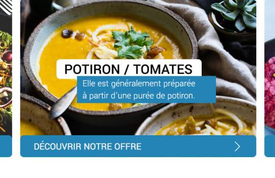 Gourming—La page d'accueil