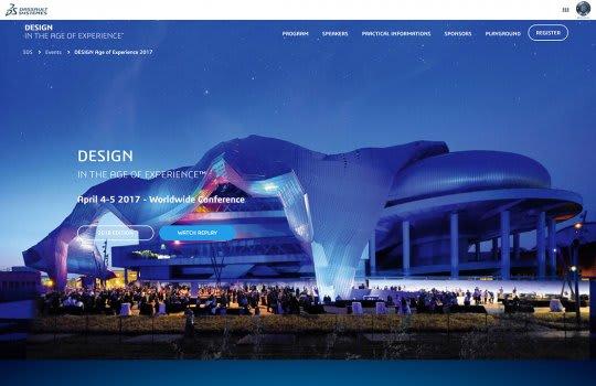 Dassault Systèmes - Megatrends–La page d'accueil
