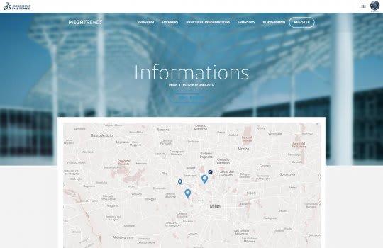 Dassault Systèmes - Megatrends–la page d'informations