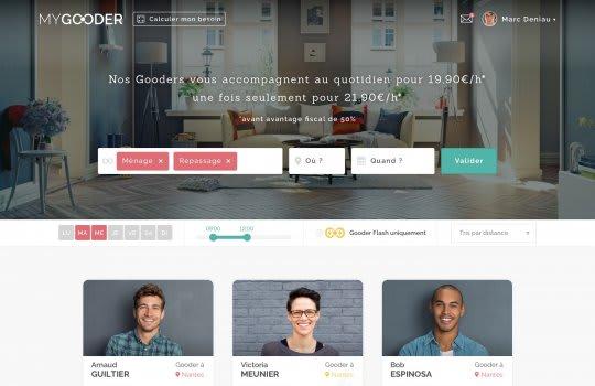 MyGooder—La page de recherche ponctuelle