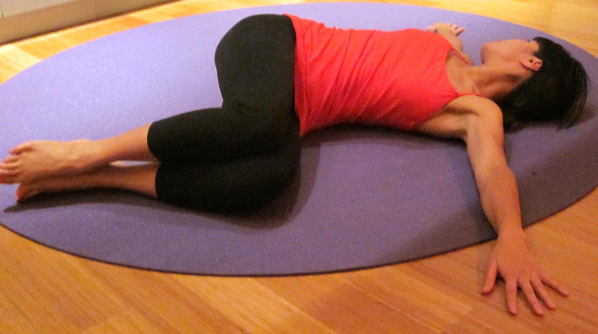 Supine Spinal Twist (Supta Matsyendrasana) Yoga Pose