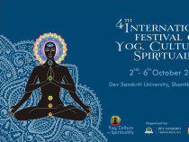 Glimpse of 4th International Festival on Yog Culture and Spirituality by DSVV
