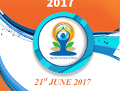 International Yoga Day Celebration on 21st June, 2017