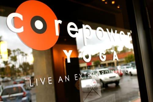 corepower yoga studio