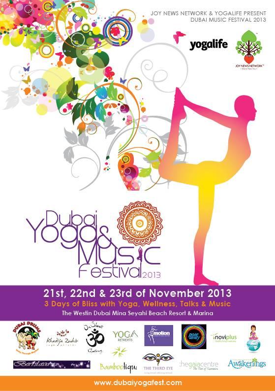 Dubai yoga festival 2013