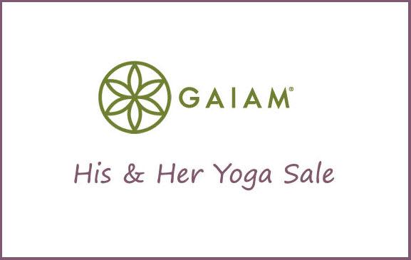 Gaiam Yoga Product Sale