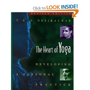 the heart of yoga book