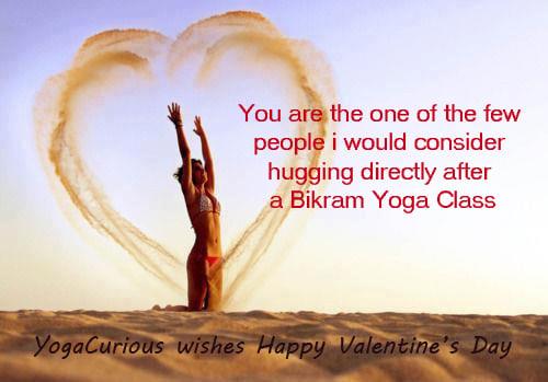 Yoga Valentine's Day Wishes