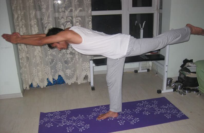 Warrior III Yoga Pose (Virabhadrasana)