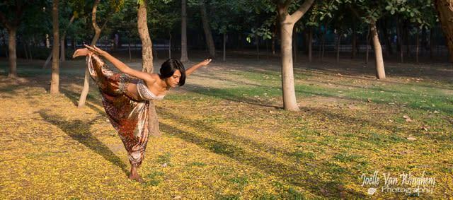 Shadow Warrior III yoga pose-Virabdhrasan - Priyanka Gupta