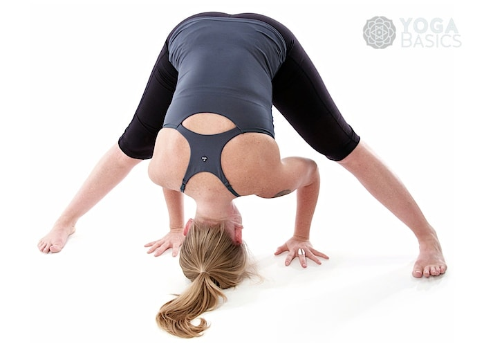Wide legged Forward Bend yoga