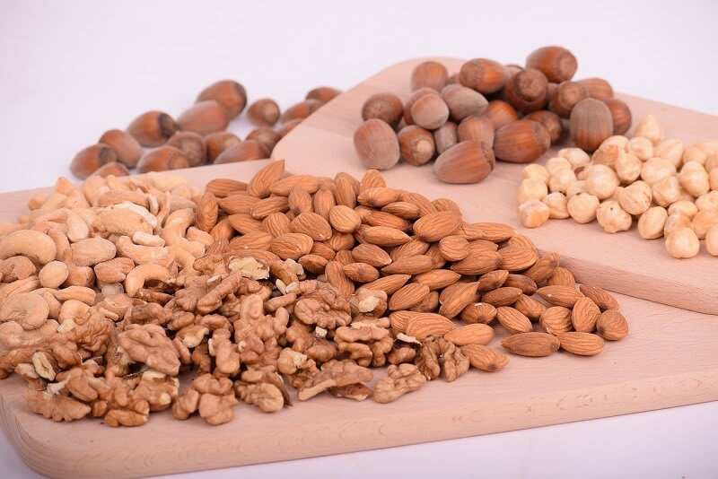 Include nuts and seeds that contain healthy fats