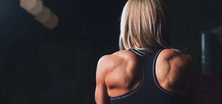 strong shoulder