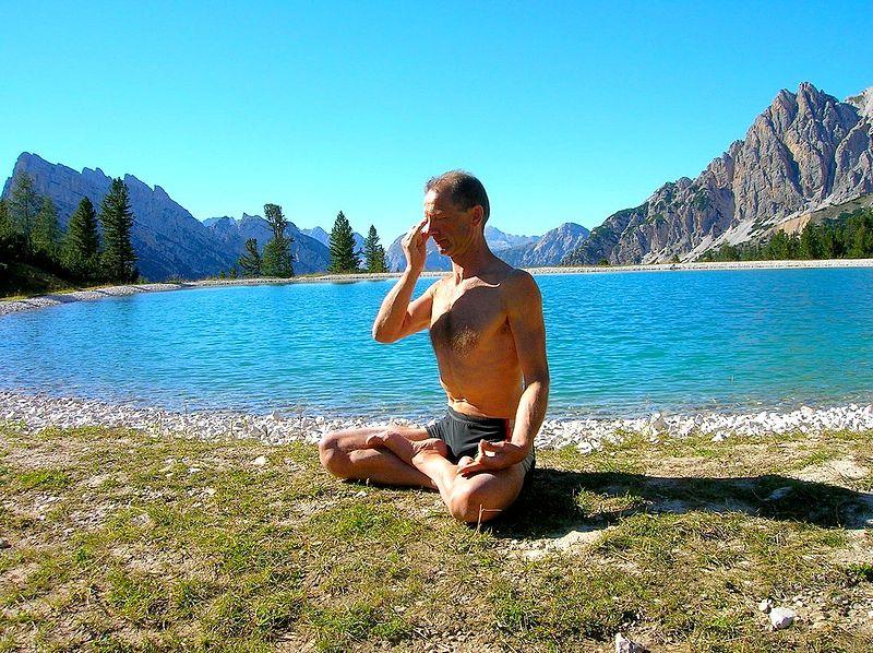 pranayama yoga pose