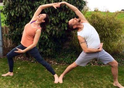 Yoga 4 Two – mit Cris und Iris – 2. April 2017