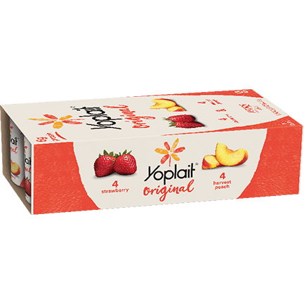 Original Strawberry and Harvest Peach