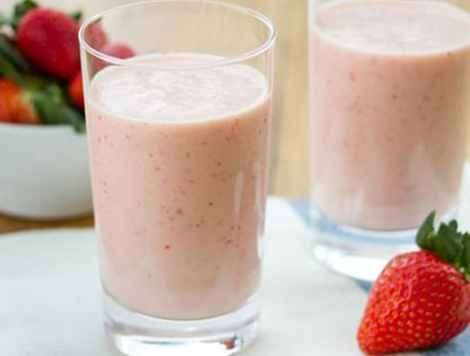 Strawberry Orange Creme Smoothie