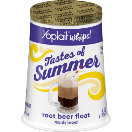 Root Beer Float Whips!