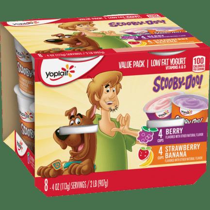 Scooby-Doo Strawberry Banana & Berry