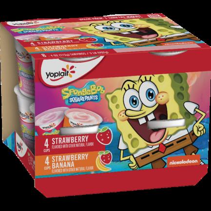 SpongeBob Strawberry Banana & Strawberry
