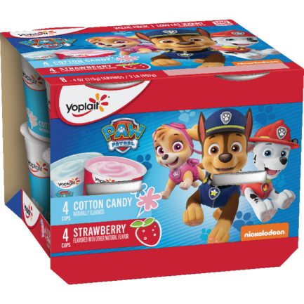 Paw Patrol Strawberry & Cotton Candy