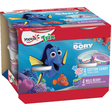 Finding Dory Cotton Candy & Wild Berry