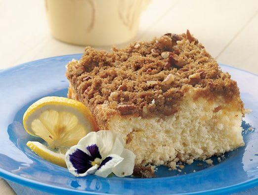 Overnight Lemon Country Coffee Cake Yoplait Com