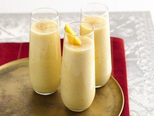 Lactose Free Peach Mango Lassi
