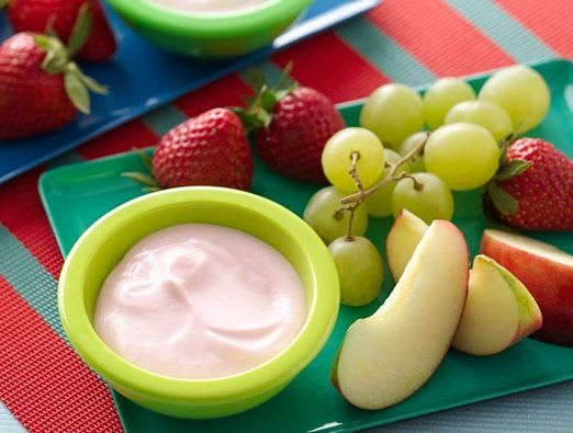 Fruit Tapas with Fruity Go-GURT© Dip