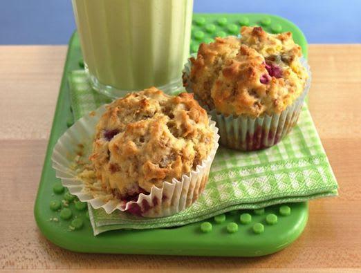 Sunny Lemon Raspberry Muffins