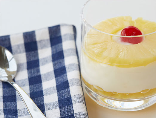 Pineapple Upside-Down Cake Parfait