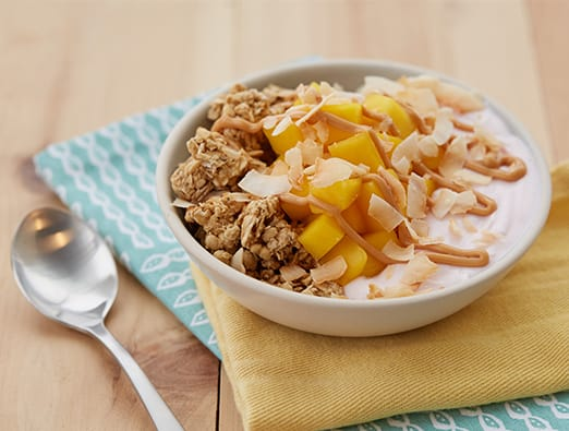 Tropical Crunch Protein Bowl