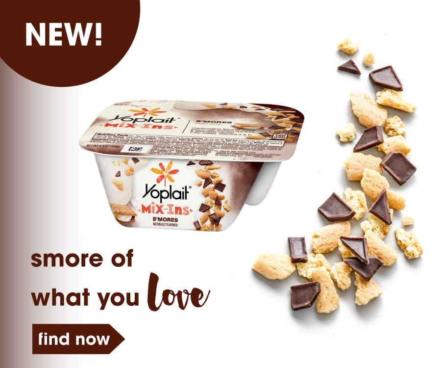 New! S'Mores Mix-In