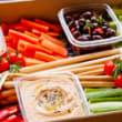 Newtown - Crudités and dips box