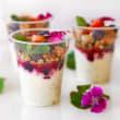 Yoghurt pots