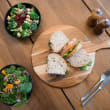 Assorted gourmet sandwiches & salads