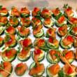 Salmon & avo roulade