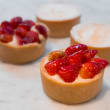 Assorted French tarts
