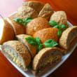 Assorted wholemeal rolls