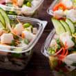 Tofu & brown rice poke bowls (6) (DF)