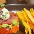 Sashimi taco's