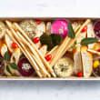 Dips & bread platter